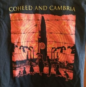 Coheed and Cambria Shirts - COHEED AND CAMBRIA T-SHIRT 👕 New Rock Music Tee